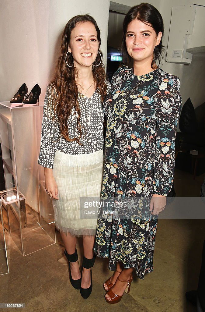Designer Ashley Williams (L) and Pixie Geldof attend as Iconic British fashion label RED OR DEAD and London based NEWGEN design talent Ashley Williams celebrate the launch of the second phase of their exclusive Ashley Williams x RED OR DEAD footwear collaboration at Lights Of Soho on September 2, 2015 in London, England.