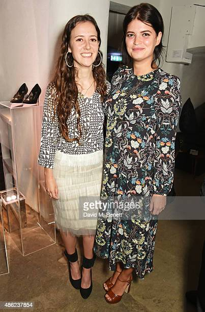 Designer Ashley Williams and Pixie Geldof attend as Iconic British fashion label RED OR DEAD and London based NEWGEN design talent Ashley Williams...