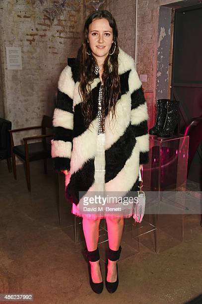 Designer Ashley Williams attends as Iconic British fashion label RED OR DEAD and London based NEWGEN design talent Ashley Williams celebrate the...