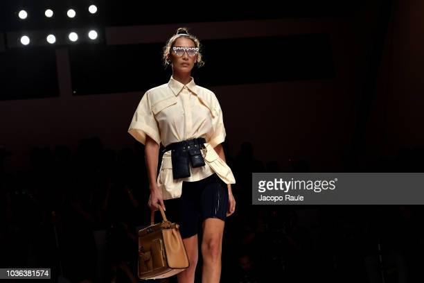 designer at the Fendi show during Milan Fashion Week Spring/Summer 2019 on September 20 2018 in Milan Italy