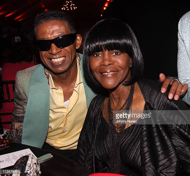 Designer b michael and Cicely Tyson attend the 2009 Harlem Renaissance Ball at The ADC Renaissance Tent on June 2 2009 in New York City