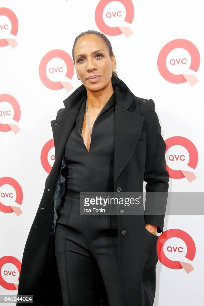 Designer Barbara Becker attends a QVC event during the Vogue Fashion's Night Out on September 8 2017 in duesseldorf Germany