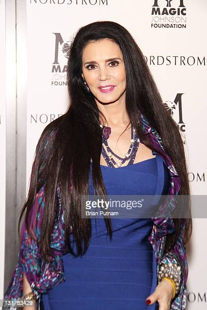Designer Barbara Lazaroff attends NBA All-Star Kickoff Private Shopping Benefit at Nordstrom at the Grove on February 18, 2011 in Los Angeles,...