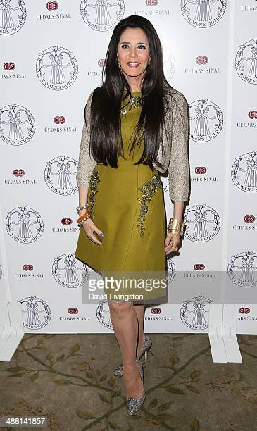Designer Barbara Lazaroff attends the Women's Guild CedarsSinai Luncheon at the Beverly Hills Hotel on April 22 2014 in Beverly Hills California