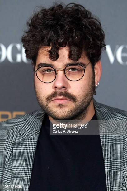 Designer Beto Garcia attends 'Vogue LG Signature' photocall at Carlos Maria de Castro Palace on December 13 2018 in Madrid Spain