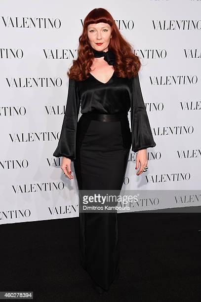 Designer Betony Vernon attends the Valentino Sala Bianca 945 Event on December 10 2014 in New York City