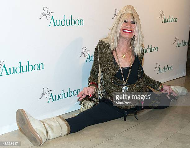 Designer Betsey Johnson attends the 2013 National Audubon Society's Gala at The Plaza Hotel on January 27 2014 in New York City
