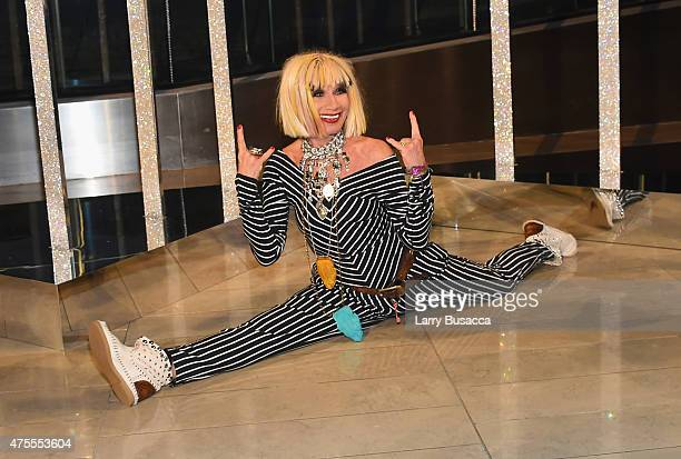 Designer Betsey Johnson attends the 2015 CFDA Fashion Awards at Alice Tully Hall at Lincoln Center on June 1 2015 in New York City