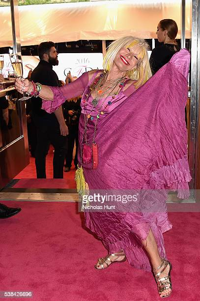 Designer Betsey Johnson attends the 2016 CFDA Fashion Awards at the Hammerstein Ballroom on June 6, 2016 in New York City.
