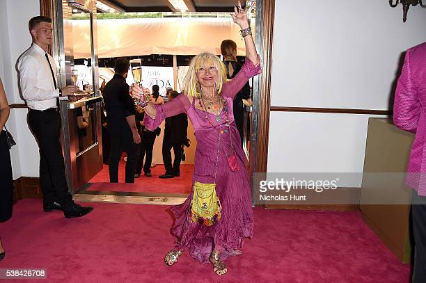 Designer Betsey Johnson attends the 2016 CFDA Fashion Awards at the Hammerstein Ballroom on June 6 2016 in New York City