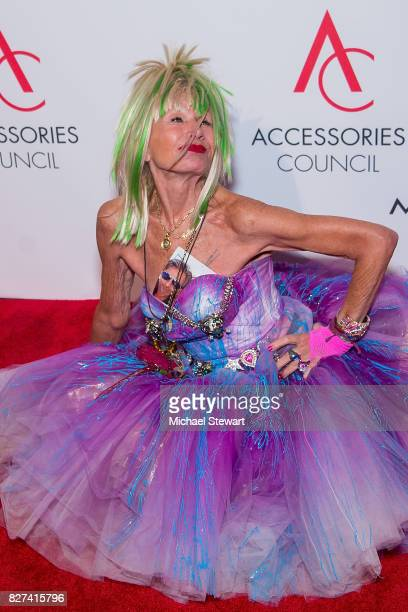 Designer Betsey Johnson attends the 21st Annual Ace Awards at Cipriani 42nd Street on August 7, 2017 in New York City.