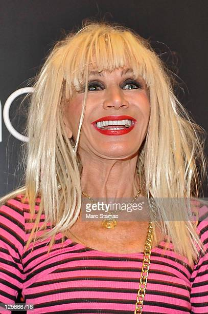 Designer Betsey Johnson attends the Betsey Johnson Fashion Watch Collection launch at Macy's Herald Square on September 21 2011 in New York City