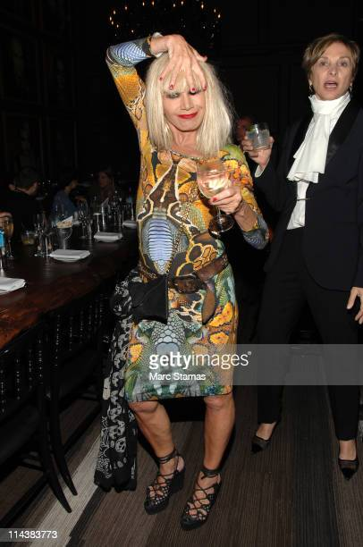 Designer Betsey Johnson attends the grand opening of COOP Food Drink at COOP Food Drink at Hotel Rivington on May 18 2011 in New York City