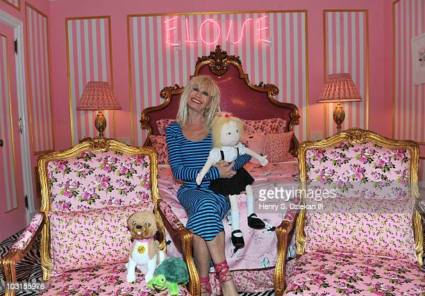 Betsey Johnson Promotes The Eloise Suite At The Plaza Hotel Stock