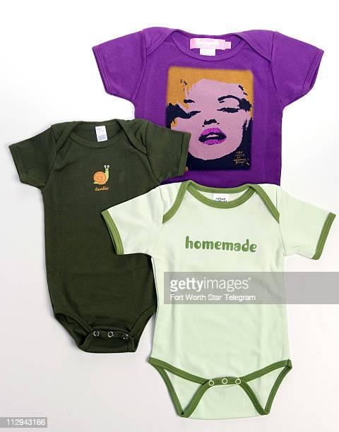 Designer Betsey Johnson shows her love for her granddaughter Layla by scrawling Little Layla by Grandma Betsey on this hip purple Andy Warholesque...