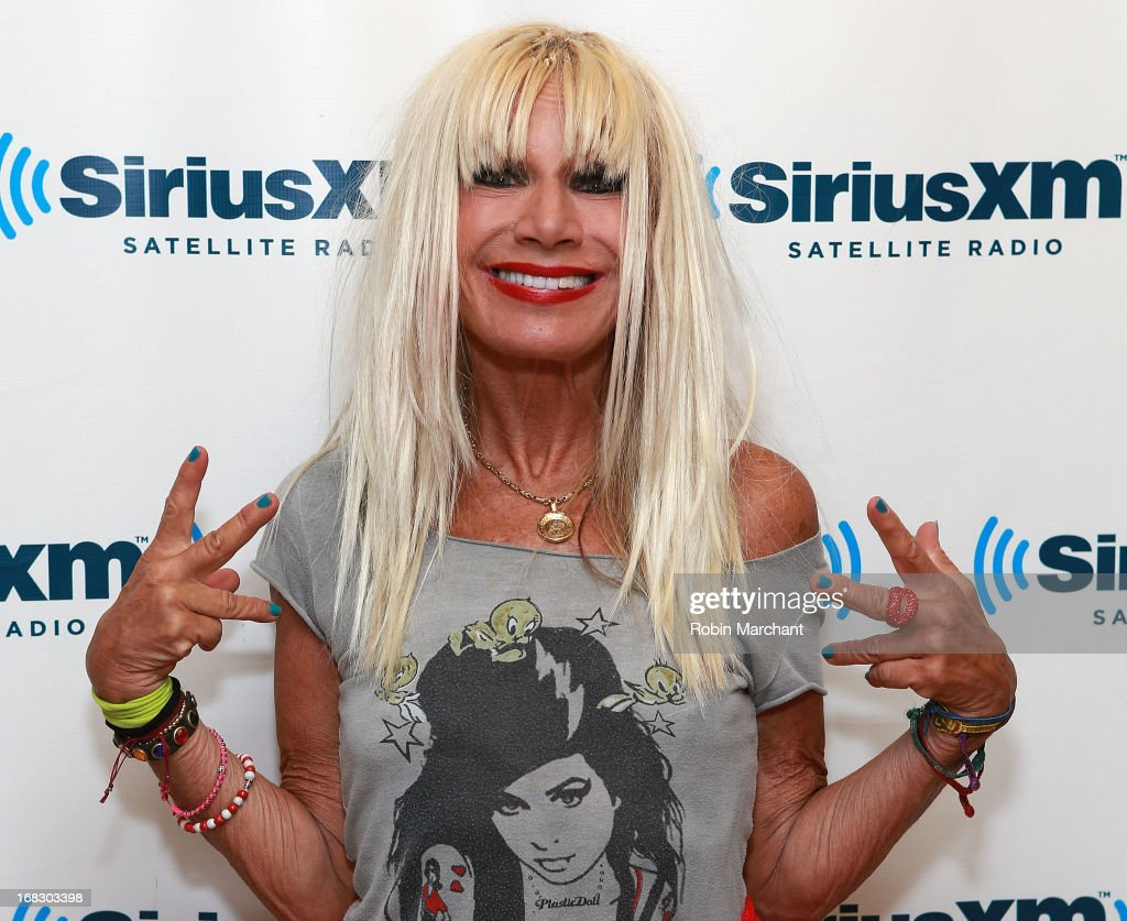 Designer Betsey Johnson visits at SiriusXM Studios on May 8, 2013 in New York City.