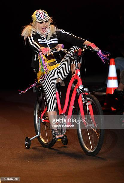 Designer Betsey Johnson walks the runway at the Betsey Johnson Spring 2011 fashion show during MercedesBenz Fashion Week at The Theater at Lincoln...