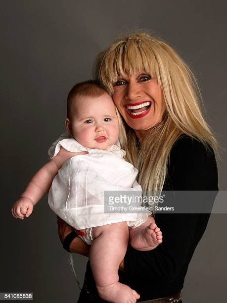 Designer Betsey Johnson with her granddaughter Laila