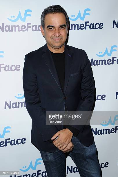 Designer Bibhu Mohapatra attends the NameFacecom launch at No 8 on January 27 2016 in New York City