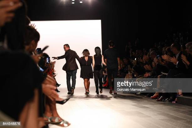 Designer Bibhu Mohapatra during his fashion show with Narayan Jewellers in association with ForeverMark Diamonds at Skylight Clarkson Sq on September...