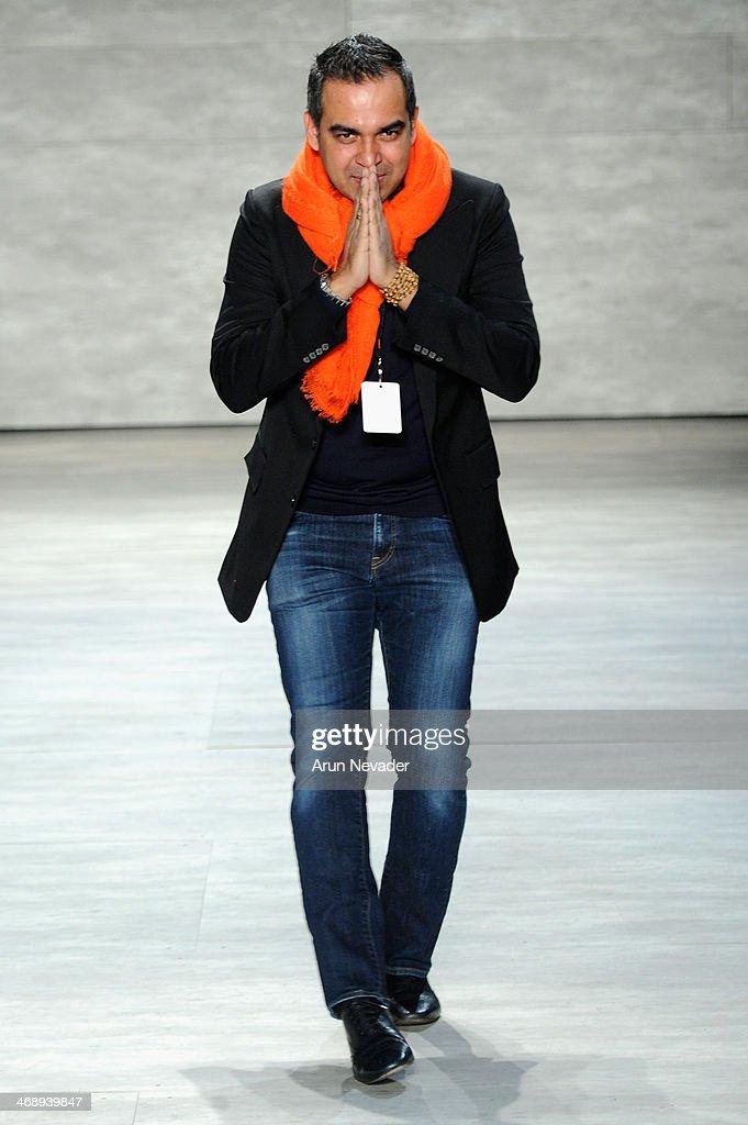 Bibhu Mohapatra - Runway - Mercedes-Benz Fashion Week Fall 2014