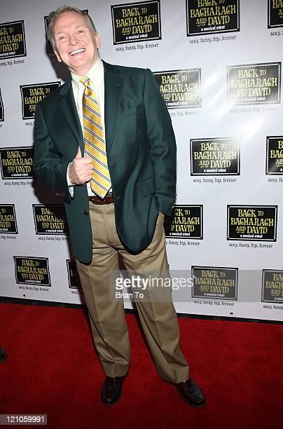 Designer Bob Mackie arrives at Back to Bacharach and David Opening Night at The Music Box @ Fonda on April 19 2009 in Hollywood California