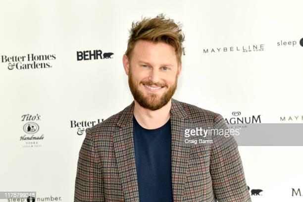 Designer Bobby Berk poses at Better Homes & Gardens Stylemaker 2019 at PUBLIC Hotel on September 19, 2019 in New York City.