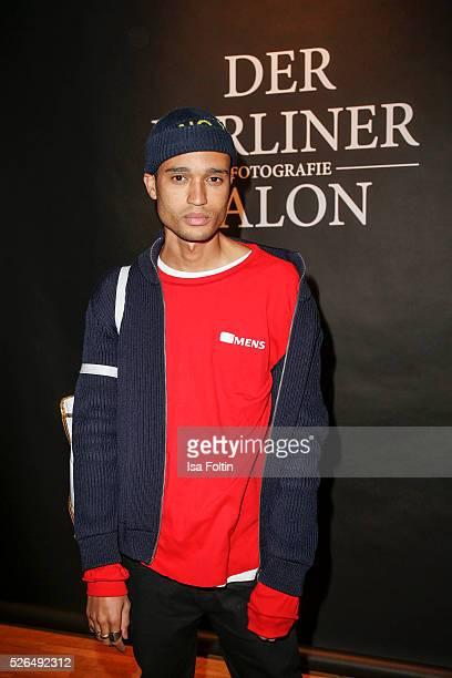 Designer Bobby Kolade at 'Der Berliner Fotografie Salon Edition 1' on April 29 2016 in Berlin Germany