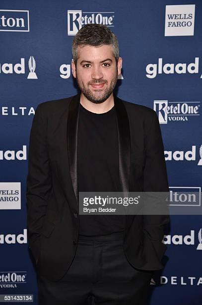 Designer Brandon Maxwell attends the 27th Annual GLAAD Media Awards in New York on May 14 2016 in New York City