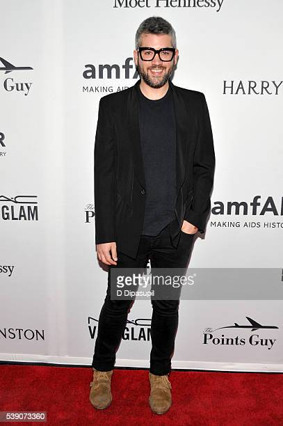 Designer Brandon Maxwell attends the 7th Annual amfAR Inspiration Gala at Skylight at Moynihan Station on June 9 2016 in New York City