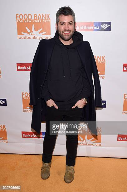 Designer Brandon Maxwell attends the Food Bank Of New York City's Can Do Awards 2016 hosted by Mario Batali at Cipriani Wall Street on April 20 2016...