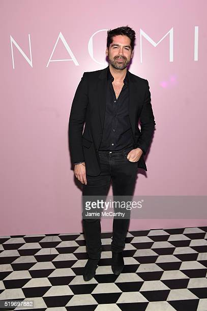 Designer Brian Atwood attends as Marc Jacobs Benedikt Taschen celebrate NAOMI at The Diamond Horseshoe on April 7 2016 in New York City
