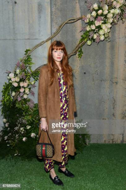 ad1d3add2 Designer Briana Lance attends the Gucci Bloom Fragrance Launch at MoMA PS1  on May 2 2017