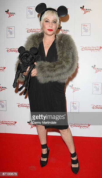 Designer Brix Smith attends the unveiling of the 'Disneyland Resort Paris Celebrity Designed Mickey Ears' at START Boutique on May 12 2009 in London...