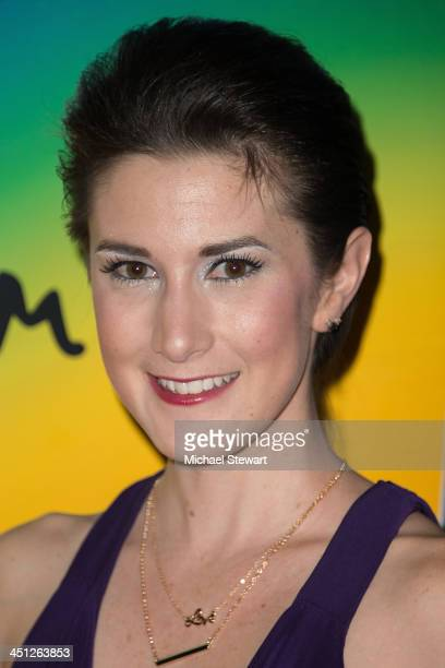 """Designer Caitlin Kelly attends the """"Lies My Father Told Me"""" Opening Night at Baruch Performing Arts Center on November 21, 2013 in New York City."""