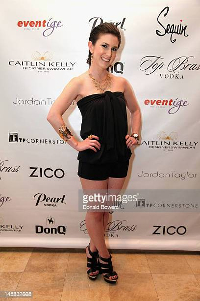 Designer Caitlin Kelly Previews Luxury Swimwear Collection on June 6 2012 in New York City