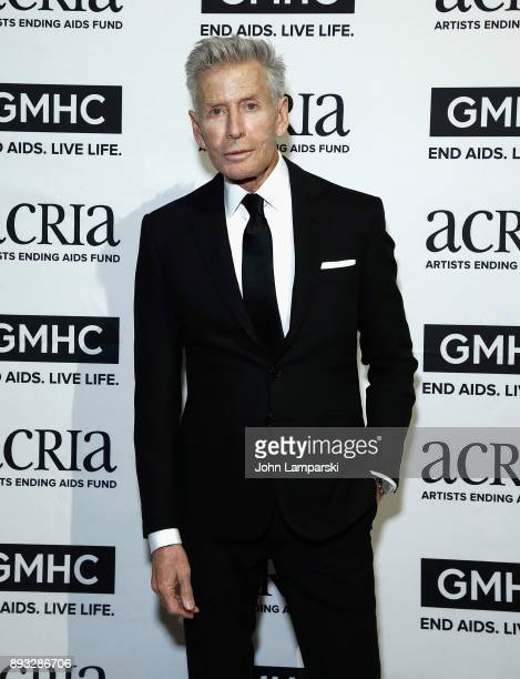 Designer Calvin Klein attends ACRIA's 22nd annual holiday dinner at Cipriani 25 Broadway on December 14 2017 in New York City