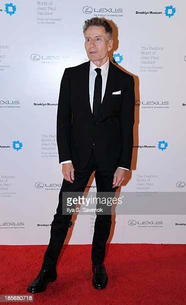 Designer Calvin Klein attends the VIP reception and viewing for The Fashion World of Jean Paul Gaultier From the Sidewalk to the Catwalk at the...