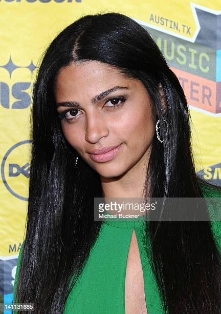 Designer Camila Alves attends the US Premiere of Killer Joe during the 2012 SXSW Music Film Interactive Festival at the Paramount Theatre on March 10...