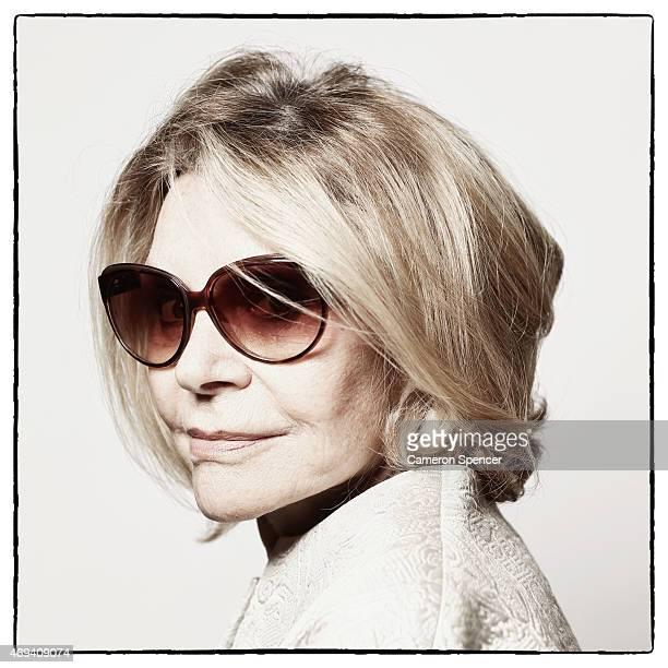 Designer Carla Zampatti poses for a portrait as MercedesBenz Fashion Week Australia marks 20 Years on March 9 2015 in Sydney Australia