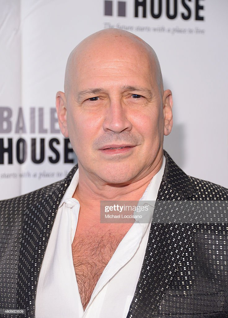 Designer Carmen Marc Valvo attends the Bailey House's 2014 Gala & Auction at Pier 60 on March 27, 2014 in New York City.