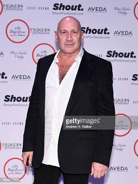 Designer Carmen Marc Valvo attends the Salute The Runway fashion show sponsored by Little Black Dress Wines Fatigues To Fabulous during MercedesBenz...