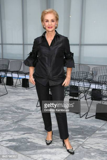 Designer Carolina Herrera attends Oscar De La Renta fashion show during New York Fashion Week on September 11 2017 in New York City