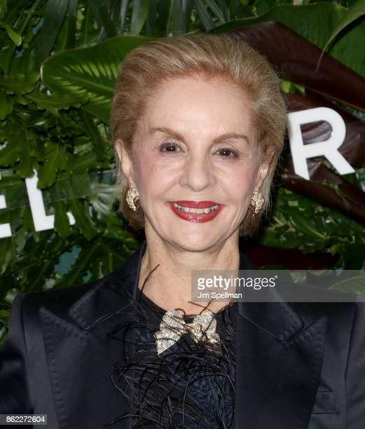 Designer Carolina Herrera attends the 11th Annual God's Love We Deliver Golden Heart Awards at Spring Studios on October 16 2017 in New York City