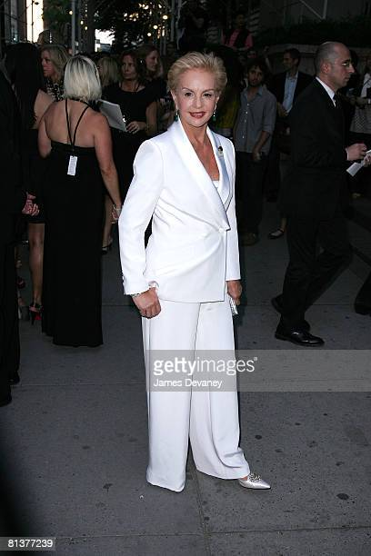 Designer Carolina Herrera attends the 2008 CFDA Fashion Awards at The New York Public Library on June 2, 2008 in New York City.