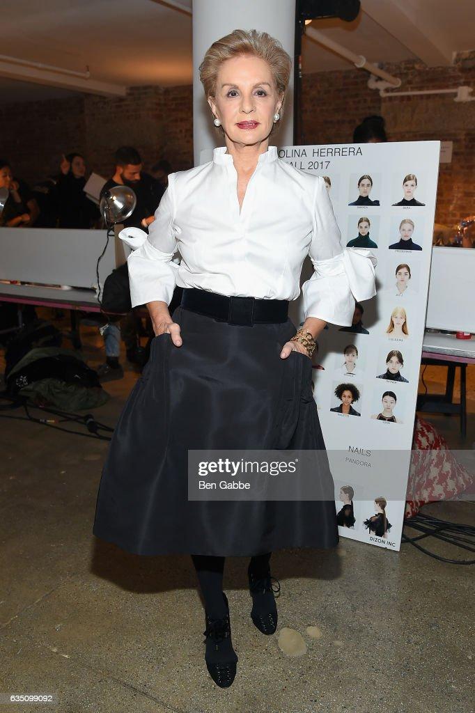 Carolina Herrera - Backstage - February 2017 - New York Fashion Week