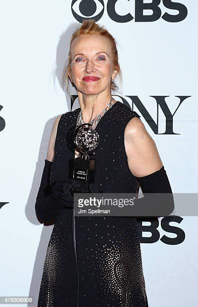 Designer Catherine Zuber attends American Theatre Wing's 69th Annual Tony Awards at Radio City Music Hall on June 7 2015 in New York City