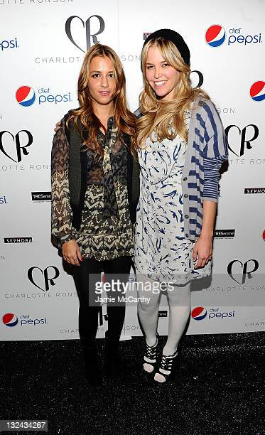 Designer Charlotte Ronson and Allie Weiss attend the Charlotte Ronson Fall 2011 Fashion show presented by Diet Pepsi during MercedesBenz fashion week...