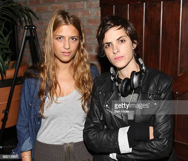 Designer Charlotte Ronson and DJ Samantha Ronson attends the Humane Society of the United States Cool vs Cruel awards at The Bowery Hotel on November...