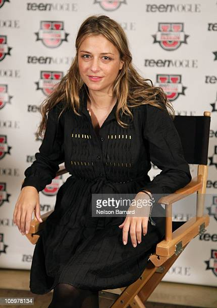 Designer Charlotte Ronson attends TEEN VOGUE'S Fashion University at Conde Nast on October 23 2010 in New York City